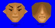Comparación del modelo 3D de la cara de Jim