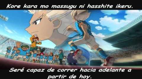 04. Character Song, Inazuma Eleven, Honoo no Riyuu, Gouenji Shuuya, Sub español y Romaji