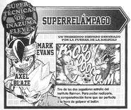 Súper Relámpago (Descripción Manga)