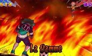 La flamme 3DS ESP