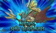 Neptuno señor de los mares 3DS