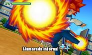 Llamarada Infernal 3DS