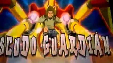 Inazuma Eleven GO Estocada Samurai v Escudo Guardián-0