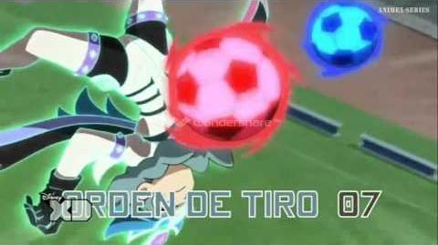 Inazuma Eleven GO Chrono Stone Orden de Tiro 07