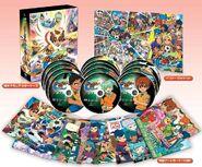 Inazuma Eleven GO - DVD BOX 2 - Chrono Stone + Posters