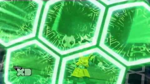Inazuma Eleven GO Chrono Stone Cañonazo de Fragmentos