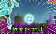 Orden de tiro 13 3DS 3