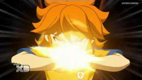 Inazuma Eleven GO Chrono Stone Apolo Dios del Sol Llamarada Solar-0