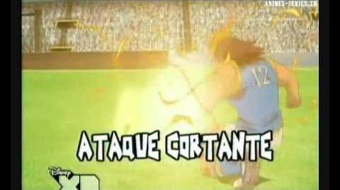 Inazuma eleven ataque cortante