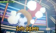 Sello gigante 3DS 3