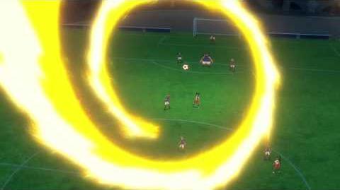 Inazuma Eleven GO VS Danball Senki W (イナズマイレブンGO vs ダンボール戦機W) Dragon Blaster (ドラゴンブラスター) HD
