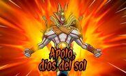 Apolo dios del sol 3DS