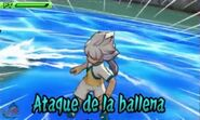 Ataque de la ballena 3DS 3