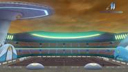 Estadio Nave Estelar en Magmavís (Vista Lateral)