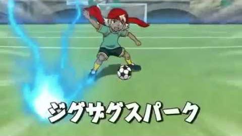 Inazuma Eleven - Zig-Zag Spark