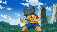 Tenma Having Fused With Shuu Aura CS 8 HQ