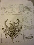 Concepto y creación de Kraon (manga)