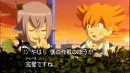 Minaho y manabe siguiendo el plan