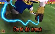 Corte de arena 3DS 4