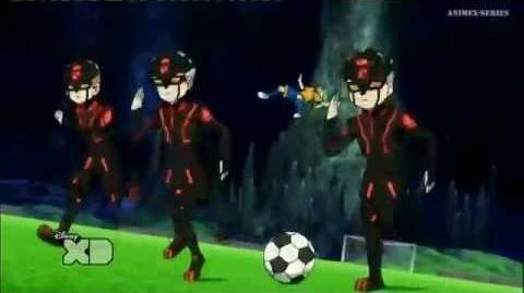 Inazuma Eleven GO Chrono Stone Orden de Defensa 14-0