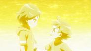 EP13 Orion - Hikaru despidiendose de Mitsuru