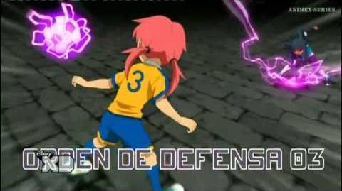 Inazuma Eleven GO Chrono Stone Orden de Defensa 03