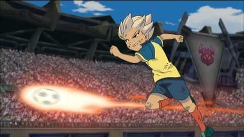 Inazuma Eleven Saikyou Gundan Ogre Shuurai Wolf Legend, Maximum Fire and Electric Trap Hissatsu