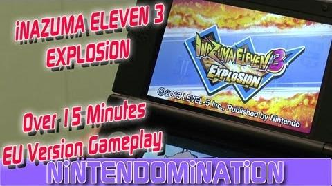 Inazuma Eleven 3 Explosion - Over 15 Minutes EU Version Gameplay *Deutsch*