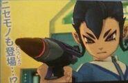 Impostor de Victor con una arma laser (VJ)