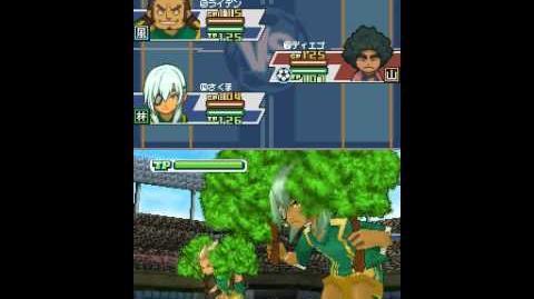 Inazuma eleven 3 spark Sneaking raid