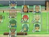 Lista de Formaciones del Inazuma Japón
