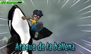 Ataque de la ballena 3DS 4