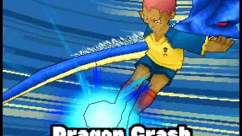 Inazuma Eleven 3 Challenge To The World - The ogre - Dragon Crash