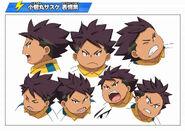 Diseños de Sasuke
