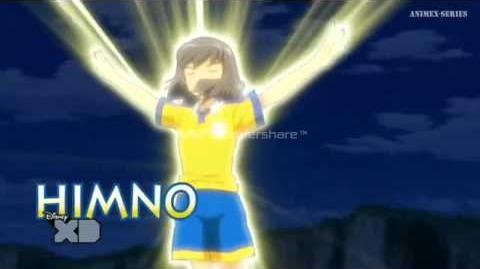 Inazuma Eleven GO Chrono Stone Himno de Atenea