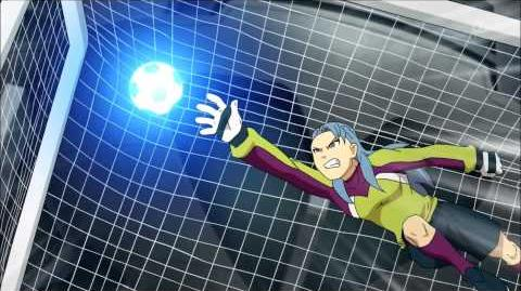 Inazuma Eleven GO Galaxy 7 - Parkour Attack (パルクールアタック)