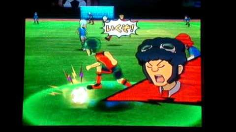 Inazuma Eleven Strikers - Dragon Canon