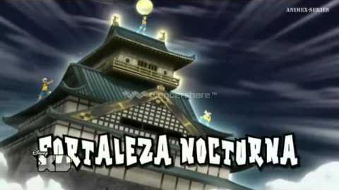 Inazuma Eleven GO CS Orden de Tiro 08 v Fortaleza Nocturna