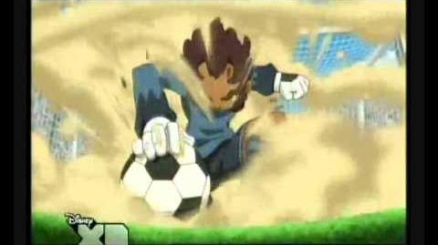 Inazuma eleven tormenta de arena