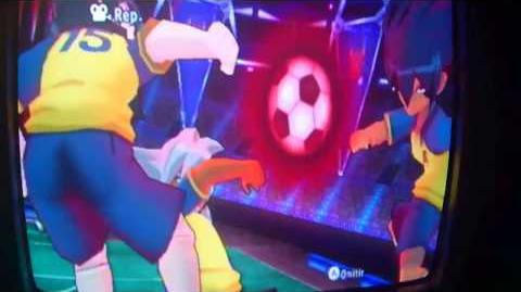 Mangual Letal vs Mano Omega Inazuma Eleven Strikers