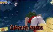 Cabezazo bazuca 3DS 3