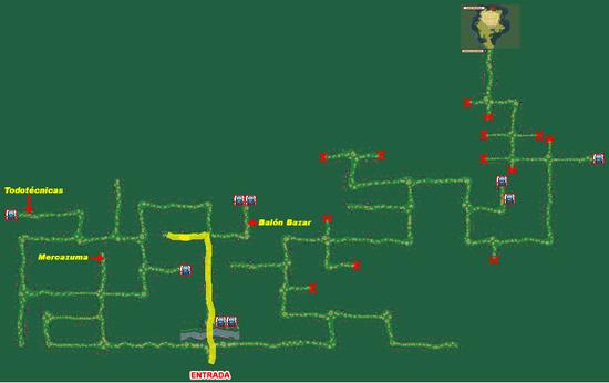 Mapa Bosque Fuji (Fichaje Ruta 2)