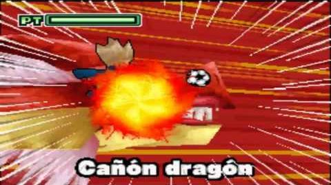 Inazuma eleven - Cañon Dragón