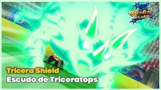 Tricera Shield Escudo de Triceratops Guardianes de la Reina Inazuma Eleven - Orion no Kokuin