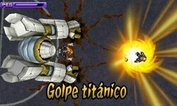 Golpe Titánico (Torre Blanca-3DS)