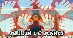 Millón de manos