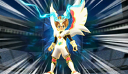 Pegaso magico arc armadura wii