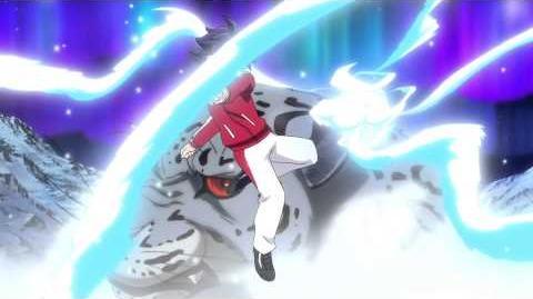 Inazuma Eleven GO VS Danball Senki W (イナズマイレブンGO vs ダンボール戦機W) Panther Blizzard (パンサーブリザード) HD