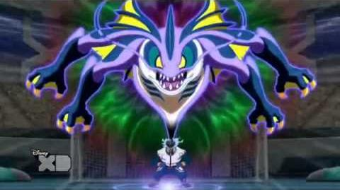 Inazuma Eleven GO CS Bestia Abisal Atlánticus Géiser Gigante