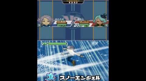 Inazuma eleven 3 spark Shin snow angel